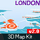 Infographics 3D Map Kit - VideoHive Item for Sale