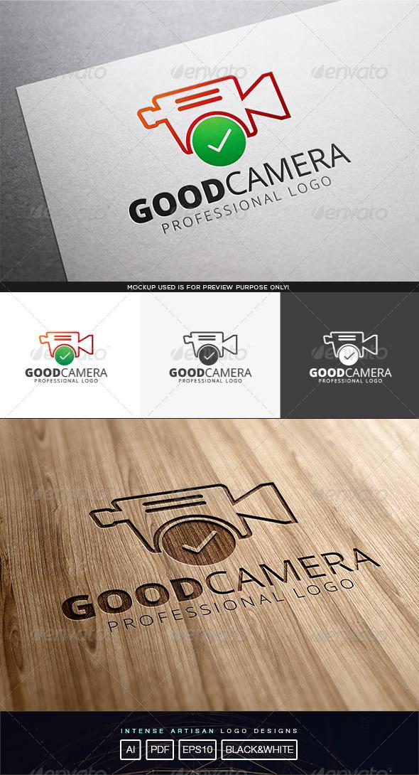 Good Camera Logo Template