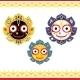 Jagannath, Indian God of the Universe. - GraphicRiver Item for Sale