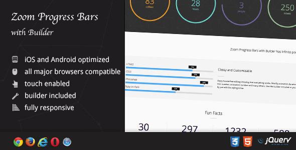 Zoom Progress Bars with Builder Download