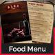 Restaurant / Bar Menu Cards - GraphicRiver Item for Sale