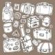 Vintage Suitcases Set  - GraphicRiver Item for Sale