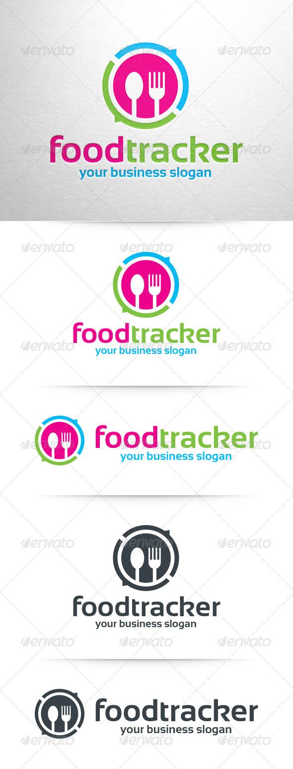 Food Tracker Logo Template