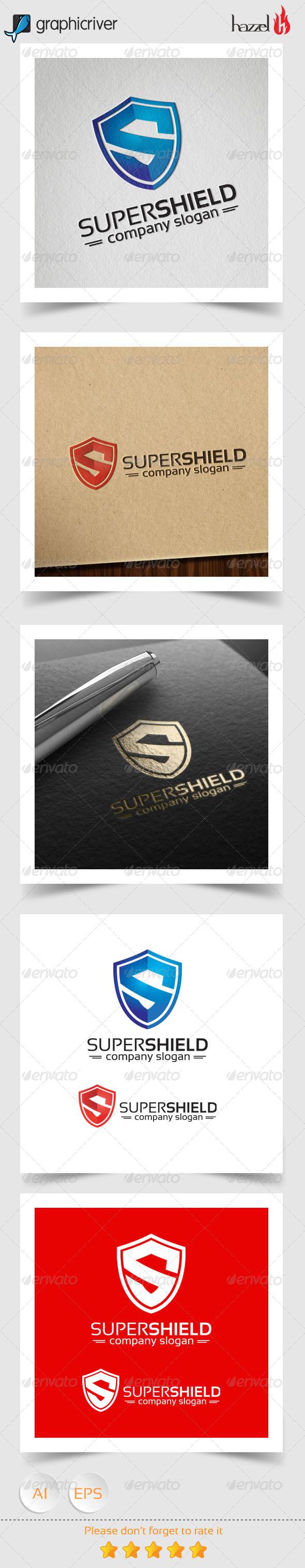 Super Shield - Letter S Logo