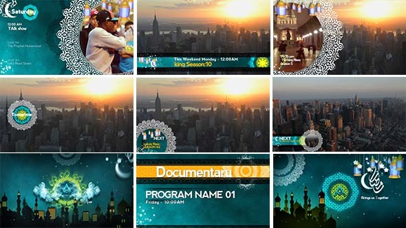 Islamic After Effects Templates from VideoHive