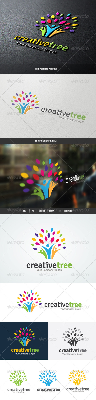 People Creative Tree logo