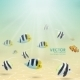 Fish in Tropical Water - GraphicRiver Item for Sale