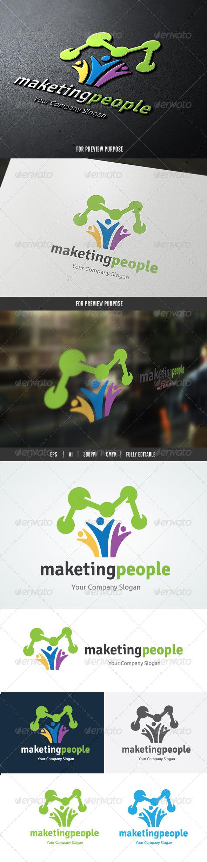 Marketing People Logo