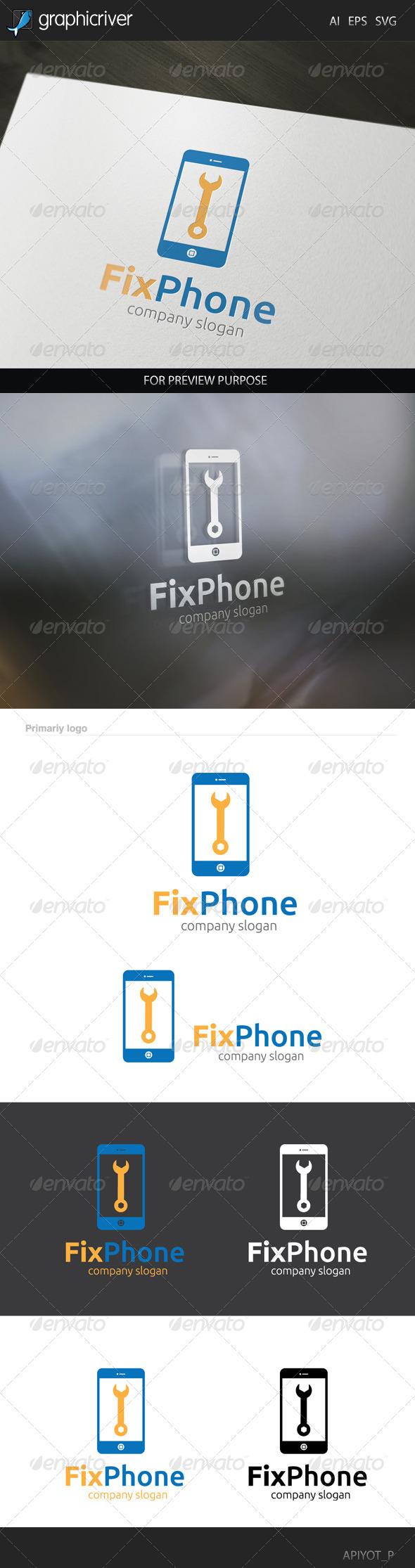 Fix Phone Logo