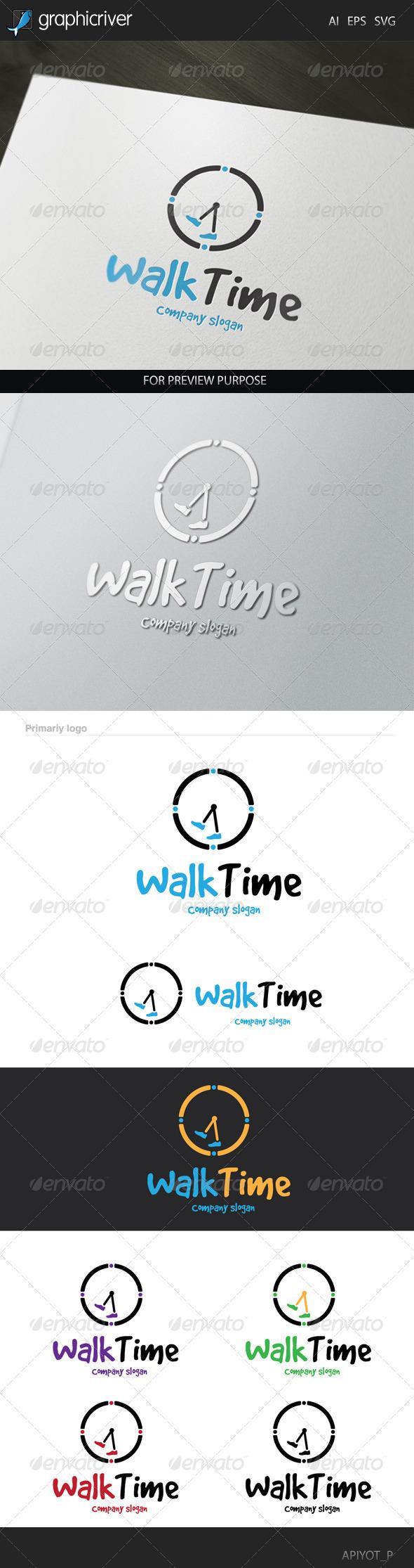 Walk Time Logo