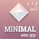 Minimal - Responsive Admin Template - ThemeForest Item for Sale