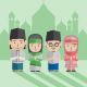 Eid Mubarak Greeting Card - GraphicRiver Item for Sale