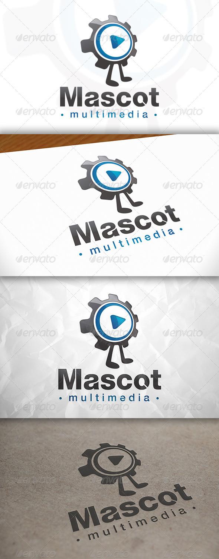 Multimedia Mascot Logo