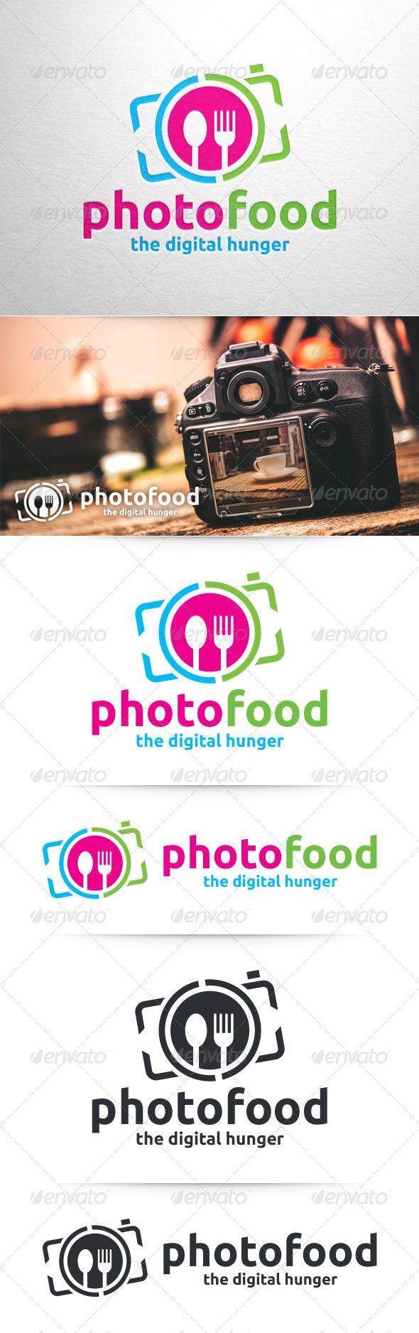 Photo Food Logo Template