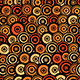Retro Style Seamless Circle Pattern - GraphicRiver Item for Sale
