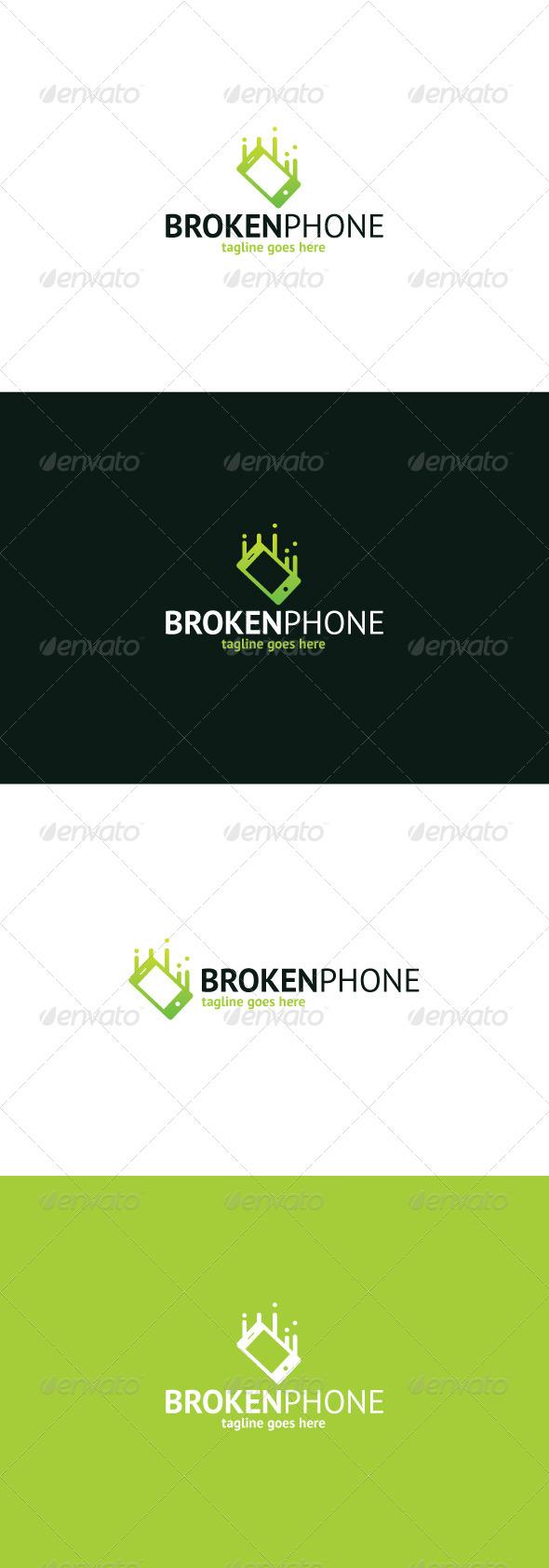 Broken Phone Logo