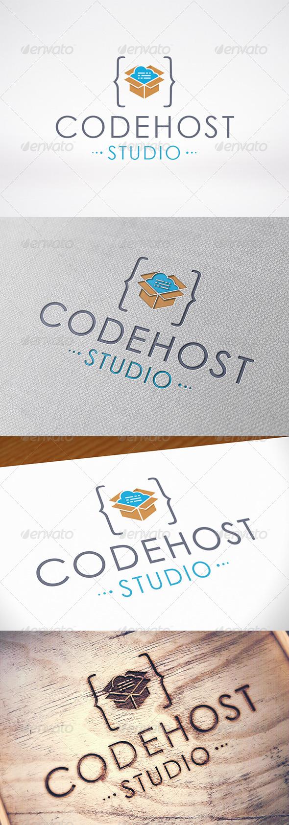 Code Host Logo Template
