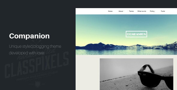 Companion Clean and responsive HTML5 template HTML template
