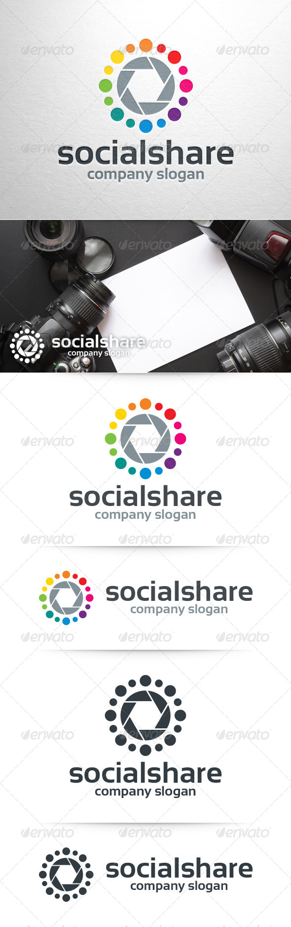 Social Share Logo Template