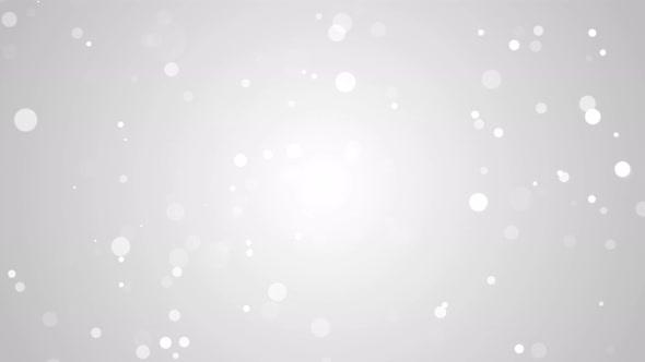 Clean Bright Particle Bokeh 4K