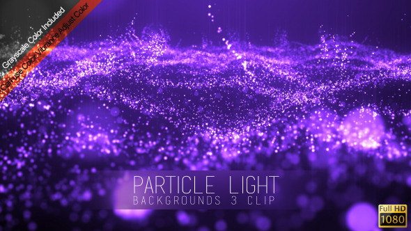 Particle Light Backgrounds