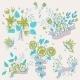 Flower Bouquet Set - GraphicRiver Item for Sale