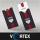 Corporate Business Card with Folder - GraphicRiver Item for Sale