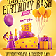 Birthday Party Invitation Flyer - GraphicRiver Item for Sale