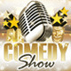 Comedy Show Poster, Flyer & Ticket - GraphicRiver Item for Sale
