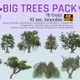 16 Realistic Trees Pack - VideoHive Item for Sale