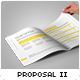 Proposal Template II - GraphicRiver Item for Sale