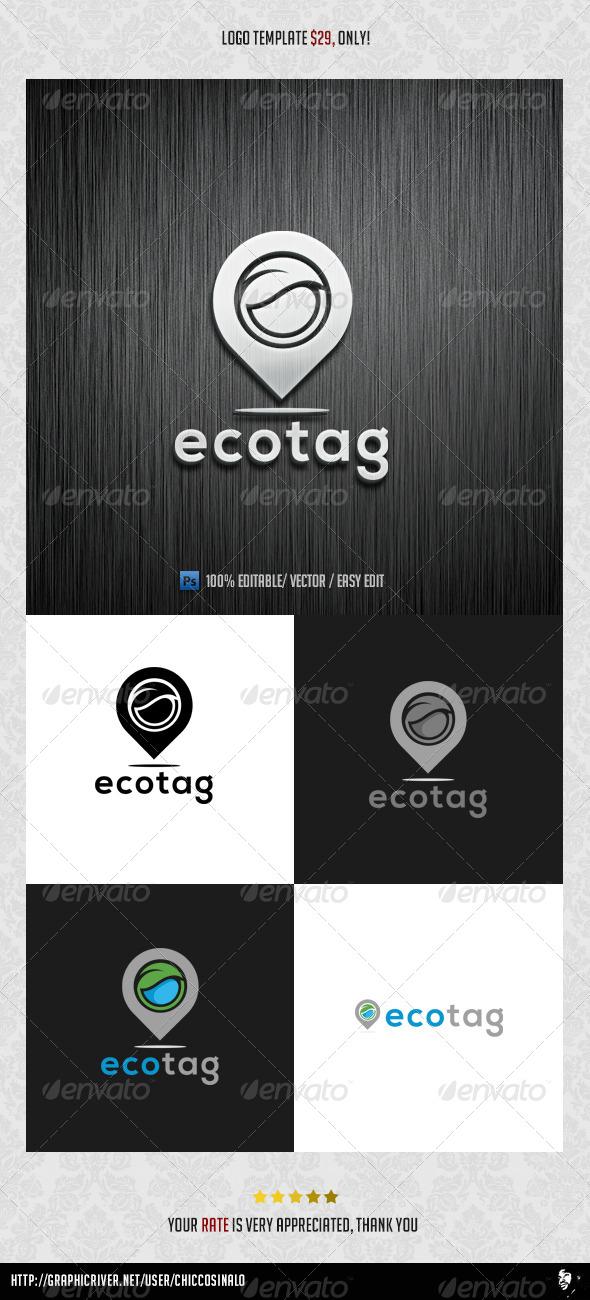 Ecotag Logo Template