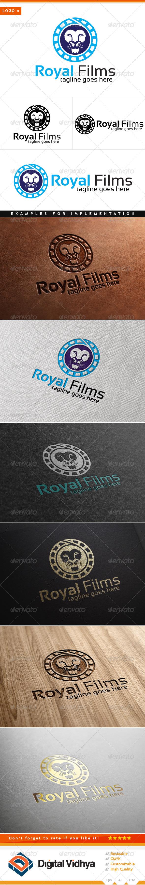 Lion & Films Logo