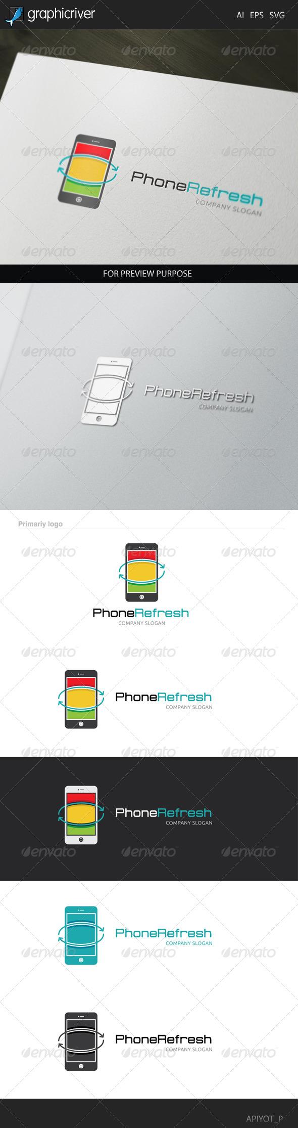 Phone Refresh Logo