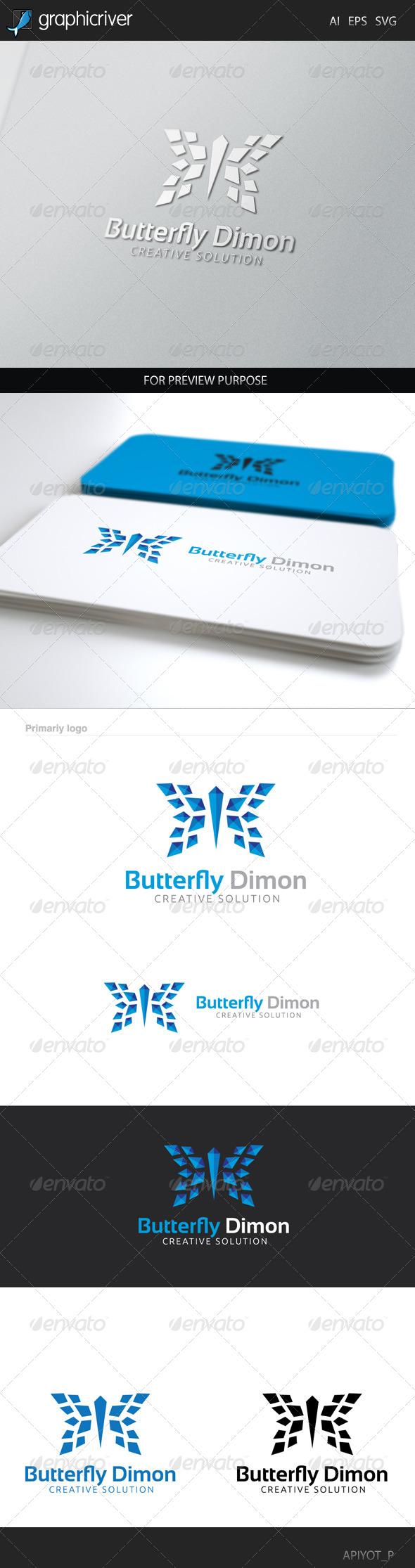 Butterfly Dimon Logo
