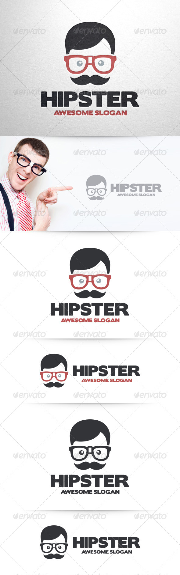 Hipster Logo Template