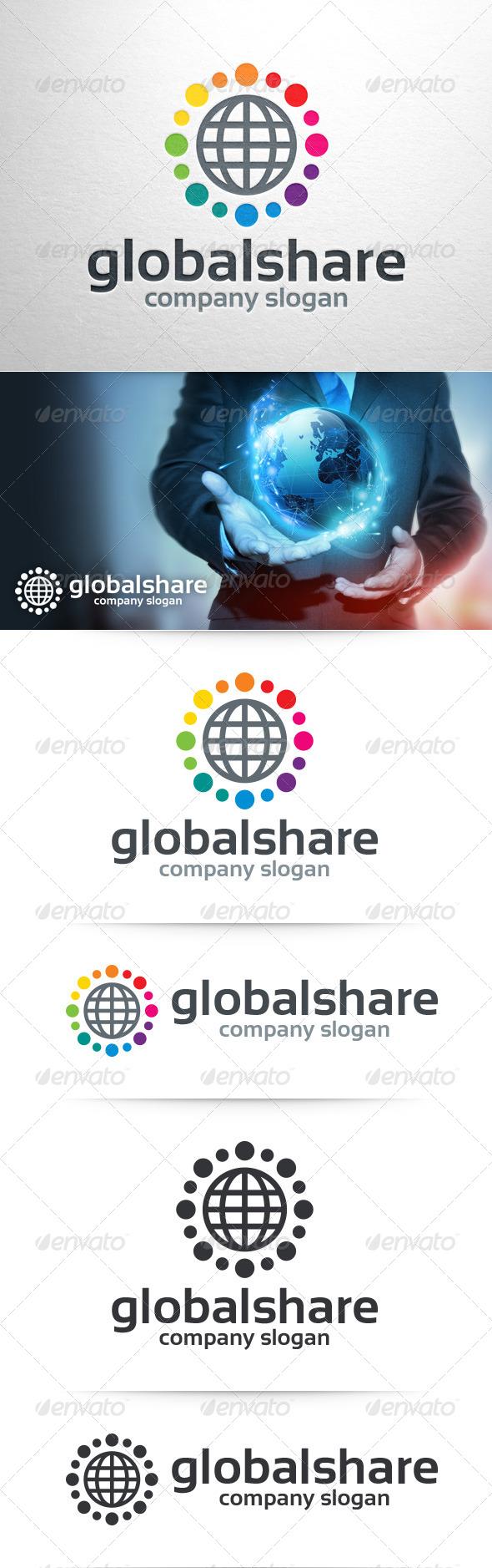 Global Share Logo Template