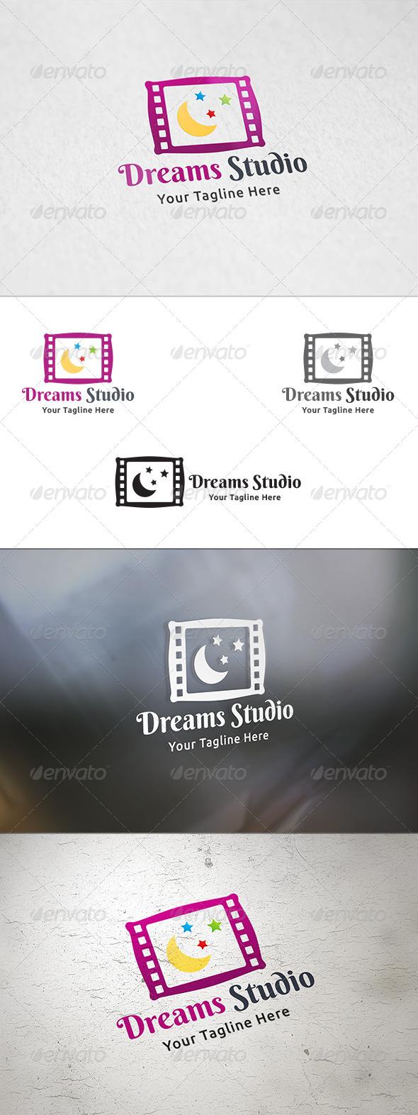 Dreams Studio - Logo Template