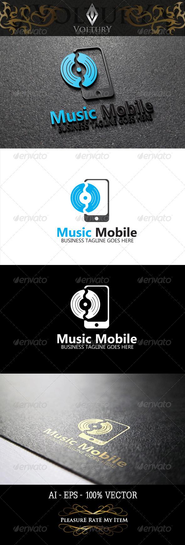 Music Mobile Logo