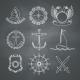 Nautical Design Elements - GraphicRiver Item for Sale