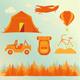 Travel Summer Set - GraphicRiver Item for Sale