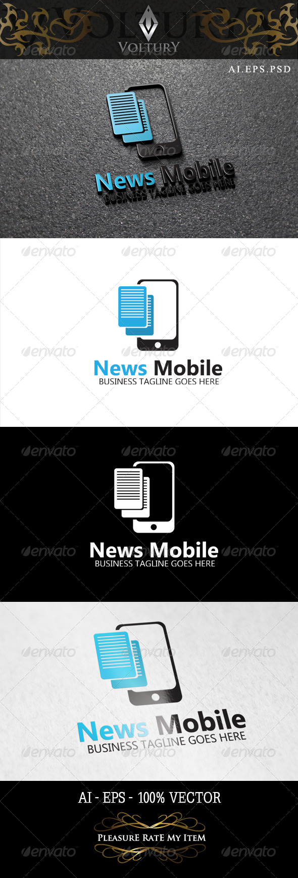 News Mobile Logo