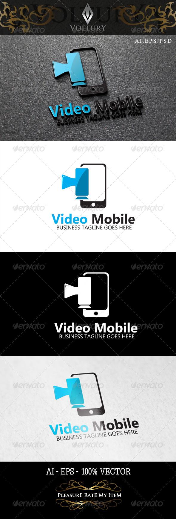 Video Mobile Logo