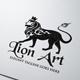 Lion Art Logo - GraphicRiver Item for Sale