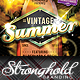 Download Vintage Summer Surfboard Flyer Template from GraphicRiver