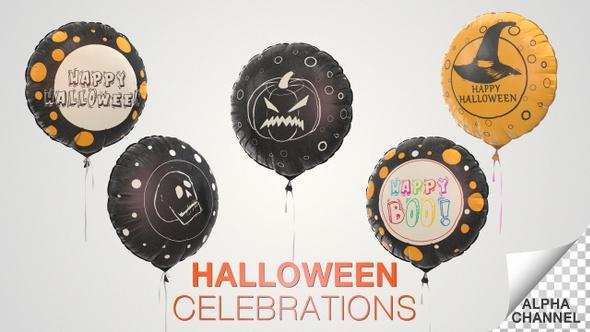 Halloween Celebration Balloons