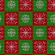 Christmas Knitted Snowflake Pattern  - VideoHive Item for Sale