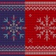 Knitted Ornament With Snowflake - VideoHive Item for Sale