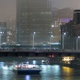 Boats and Trains on the Chicago River - VideoHive Item for Sale
