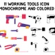 Working Tools Animated Icon Set - VideoHive Item for Sale